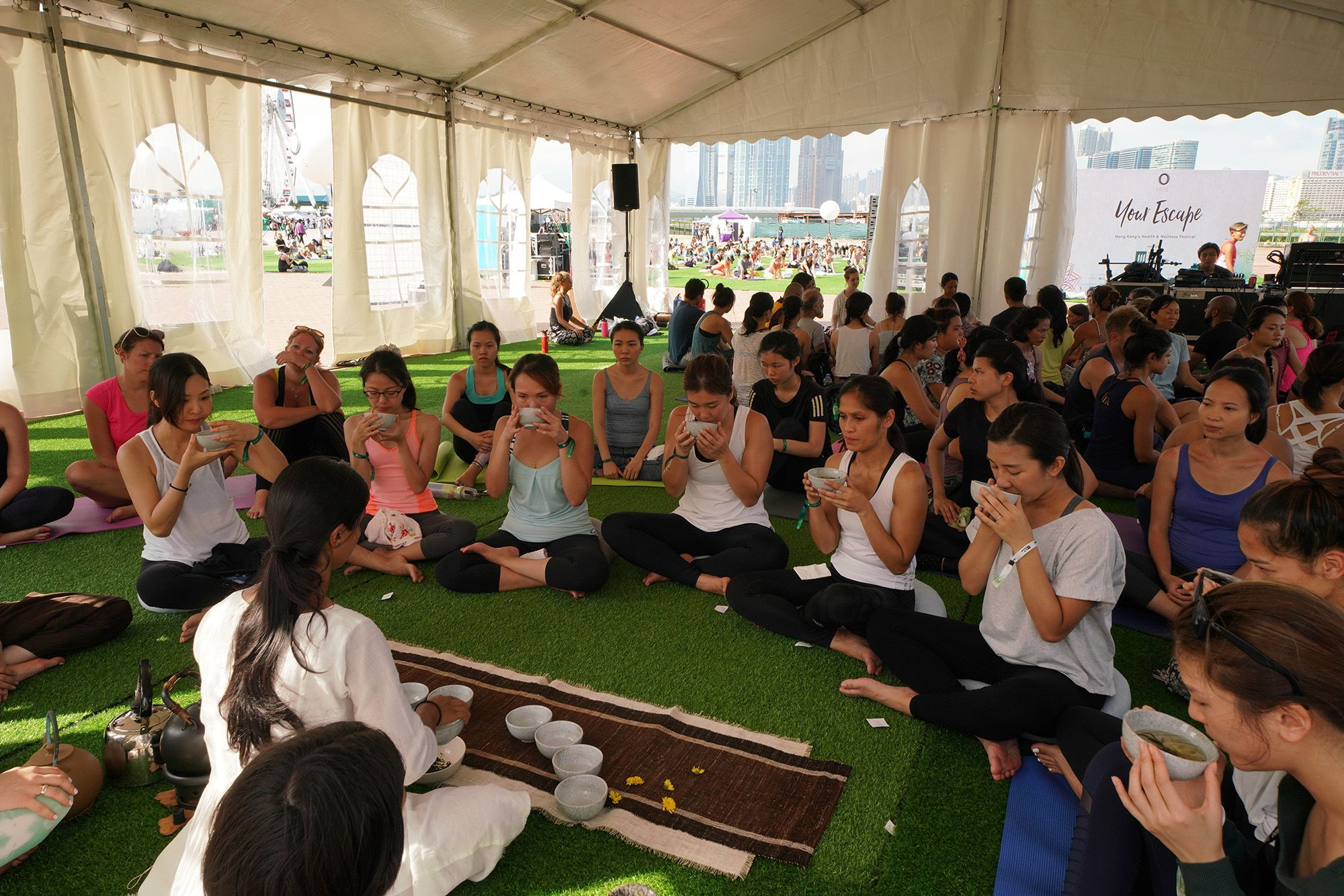 IRIS: Your Escape Hong Kong's Largest Fitness & Wellness Festival 全港最大型運動健康節