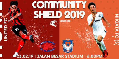 Community Shield on 23 February 2019