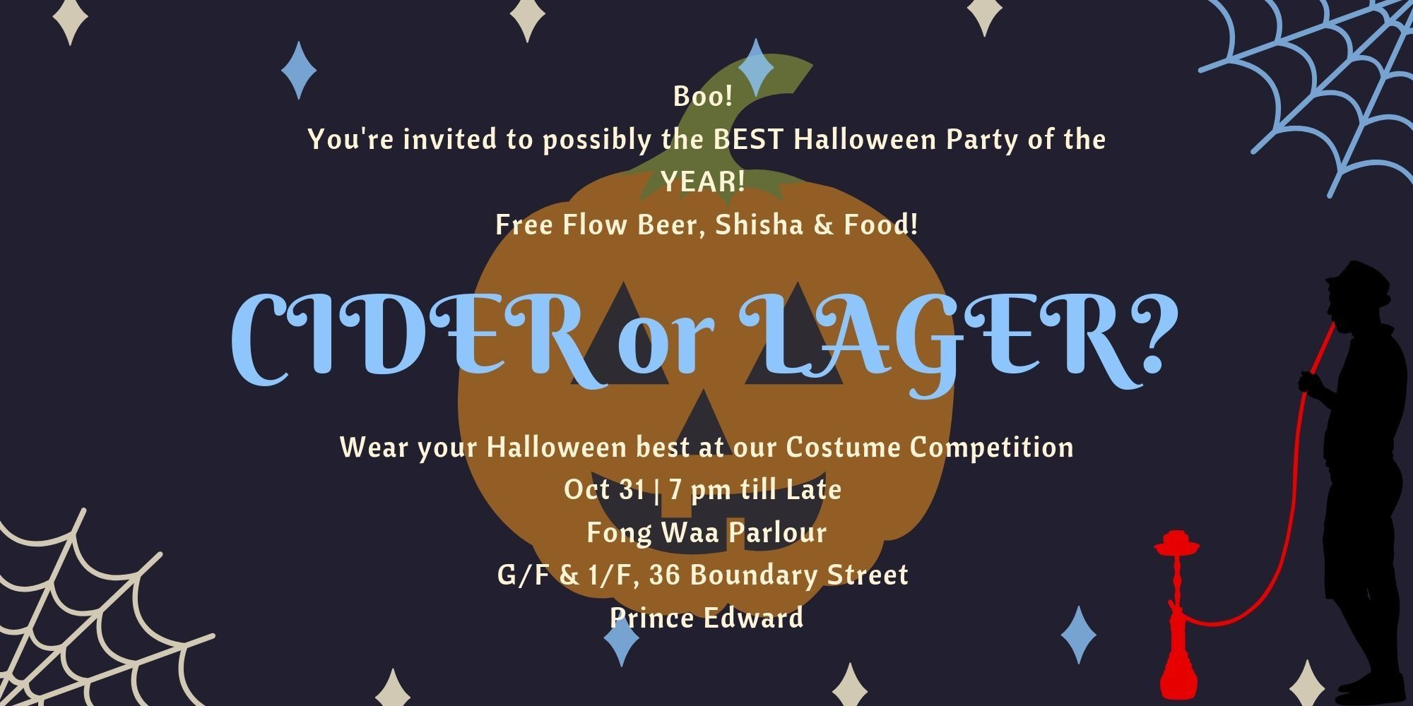 Craft Lager and Cider Halloween Party You Can't Miss