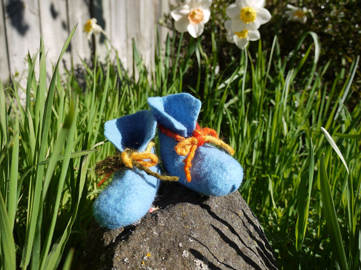 (SOLD OUT) 我的第一步 — 幼兒羊毛小靴工作坊  My First Steps - Infant Wool Booties Workshop