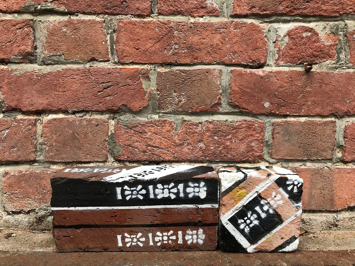 共構城市地標:磚頭噴畫工作坊 Co-creation of City Landscape –  Spray Painting on Bricks Workshop