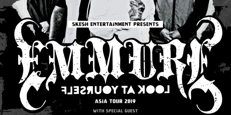 Emmure 「Look At Yourself」Asia Tour 2019 - Live in Hong Kong