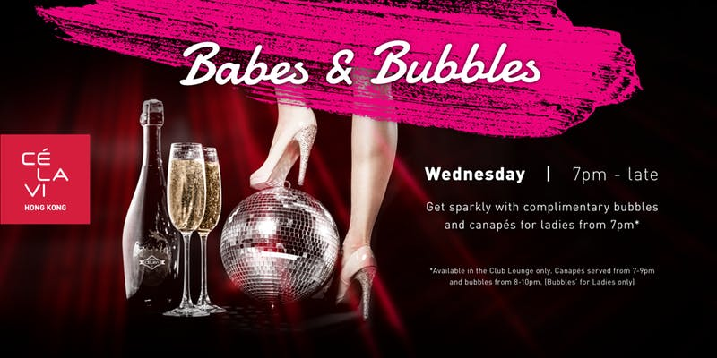 Babes & Bubbles (Ladies Night) at CÉ LA VI